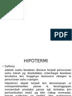 hipotermi