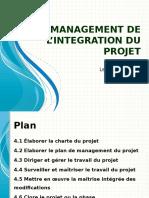 [1] Management de l'Intégration Du Projet