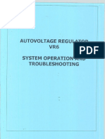 Autovoltage Regulator VR6 System Operation and Troubleshooting