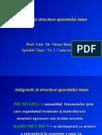 1.Antigenele Si Structura AP. Imun 2015 Prof. Dr. Stoica
