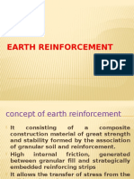 Earth Reinforcement