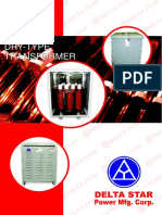 DSPMC Brochure for Dry Type Transformer