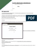 File Upload XSS - Hack 2 Learn