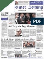 PZ Pforzheim Vom 23.02.2002 Seite 1