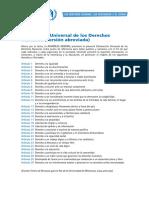Materiales Didacticos Ddhh Declaracion