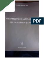 Geometrie Analitică și Diferențială - Vasile-Horea Ile.compressed.pdf
