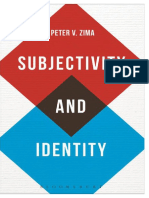 Subjectivity and Identity_ Betw - Peter v. Zima