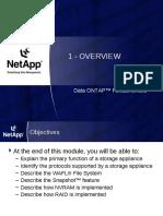 Data ONTAP Fundamentals