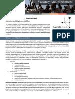 Vacancy Announcement Research Assistant Migration Pillar