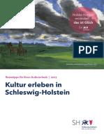 Kultur erleben in Schleswig-Holstein | Reisetipps für Ihren Kultururlaub 2017