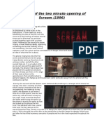Scream Micro Analysis