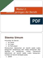 Modul 2 Sistem Jaringan Air Bersih