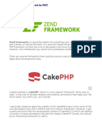 What is the Best Framework in PHP?