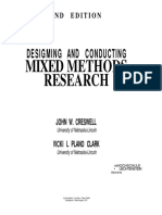 Creswell Mixed Research