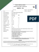 Additiv 730 Additiv 830 (for Engine Oil) Tds