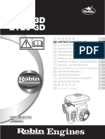 Robin Ey15-3d_ey20-3d Operations Manual