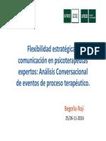 Psicoterapia.análisis Conversacional Uned