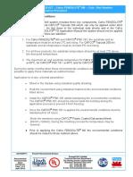 PCTDS 027 Fendolite MII Cold Wet Weather Application