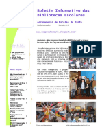 Boletim Informativo BE - 1º Periodo 2016-17