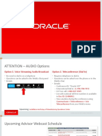 Oracle MOC Installation - ODI Configurations