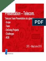 20160602 Presentation Telecom