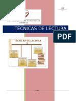 Monografía Técnicas de Lectura