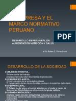 1. 4 La Empresa y El Marco Normativo Peruano