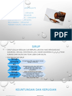 Ppt Sirup Kel Rancangan Formula Kelompok 3
