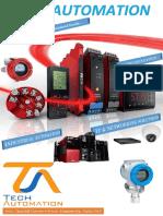 Company Profile - TECH Automation - PR Electronics - Dubai UAE