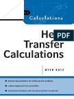Heat Transfer Calculations - Myer Kutz (McGraw-Hill, 2004)
