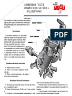 Carburador Teste e Funcionamento Dos Solenoides Mille Eletronic