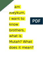 MUT'AH (1)