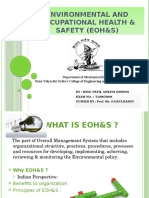 Environmental and Occupational Health & Safety
