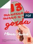 """""""13 maneras de mirar a una gorda"""", Mona Awad (Kailas Editorial)"""