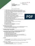 SUBIECTE - Sistemul cadastral in administratia locala 2015-2016 +