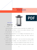 YX-280D Autoclave Use's Manual