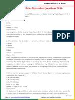 Current Affairs November  2016 PDF.pdf