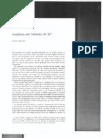 Gennaro Chierchia (1989) Anaphora and Attitude de se