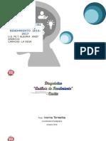 Analisis Del Diagnostico Pedagogico Año 16-17 Andy Aparicio - Ambos Nucleos