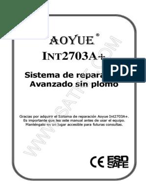 SATKIT B012 Recambio soldador aoyue 2702A Y 2703A+