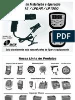 Manual Pistola Estroboscópica SACCH LPD-M8