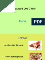 Restaurant Les 3 Rois