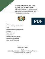 Bilingueuniversidad Nacional de San Cristobal de Huamanga