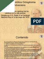 Enciclica octogesima adveniens