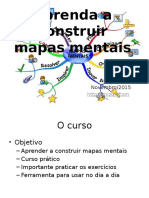 Aprenda Cosntruir Mapas Mentais 1de4