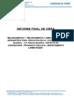 Informe Final de Obra