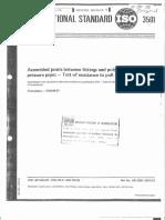ISO 3501 Resistencia Uniones Tracción