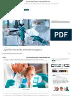 Qué son los medicamentos biológicos.pdf