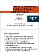 Acute Coronary Syndrome and Suicide