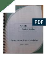 Livro didático Arte Ensino Médio EJA 2007